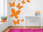 Motyle w locie naklejki na ścianę motyle w sklepie internetowym Naklej-To