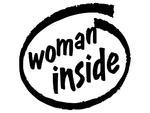 Woman inside naklejka na samochód samochód na ścianę w sklepie internetowym Naklej-To
