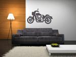 Motocykl 1 naklejka na ścianę motocykl w sklepie internetowym Naklej-To