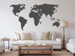 naklejka na ścianę Mapa świata 2 naklejka na ścianę w sklepie internetowym Naklej-To