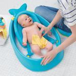 Wanienka do kąpieli dla noworodka i niemowlaka - wanienka + akcesoria Wieloryb MOBY, SKIP HOP w sklepie internetowym MądreSzkraby