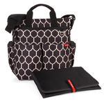 Torba do wózka Duo Signature Onyx - pojemna torba dla mamy na akcesoria niemowlęce, SKIP HOP - Onyx w sklepie internetowym MądreSzkraby