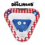 Miseczka do jedzenia dla dzieci z melaminy Hipopotam Hippipios, Les Deglingos - Hipopotam Hippipios w sklepie internetowym MądreSzkraby