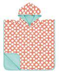 Ręcznik Poncho dla dzieci do kąpieli - ręcznik kąpielowy z kapturem Jolly Dots, Lassig - Jolly Dots w sklepie internetowym MądreSzkraby