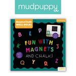 Mudpuppy Naklejka magnetyczna - tablica kredowa ABC w sklepie internetowym MądreSzkraby