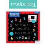 Mudpuppy Naklejka magnetyczna - tablica kredowa 123 w sklepie internetowym MądreSzkraby
