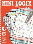 Mini gra logiczna SUDOKU dla dzieci - seria podróżnicza / kieszonkowa MINI LOGIX DJECO, DJ05350 w sklepie internetowym MądreSzkraby