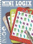 Mini gra logiczna SEKWENCJE dla dzieci - seria podróżnicza / kieszonkowa MINI LOGIX DJECO, DJ05353 w sklepie internetowym MądreSzkraby