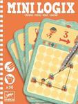 Mini gra logiczna DRÓŻKI dla dzieci - seria podróżnicza / kieszonkowa MINI LOGIX DJECO, DJ05362 w sklepie internetowym MądreSzkraby