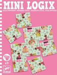 Mini puzzle KSIĘŻNICZKI - seria podróżnicza / kieszonkowa MINI LOGIX DJECO, DJ05363 w sklepie internetowym MądreSzkraby