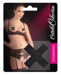 Naklejki Ozdoby na piersi w kształcie X czarne Naklejki Ozdoby na piersi w kształcie X czarne w sklepie internetowym Erogaget