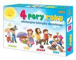 ADAMIGO GRA EDUKACYJNA LOTERYJKA OBRAZKOWA 4 PORY ROKU 6205 w sklepie internetowym e-zabawkowo.pl