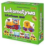 ADAMIGO UKŁADANKA EDUKACYJNA LOKOMOTYWA - LITERKOWE ZOO 7219 w sklepie internetowym e-zabawkowo.pl