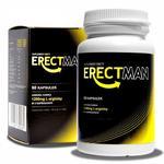 ERECTMAN - Bardzo mocny suplement na erekcję 60caps. w sklepie internetowym eRozkosz.pl