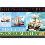Model plastikowy - Łodzie Nina, Pinta & Santa Maria (3 Pack) 1:144 - Lindberg w sklepie internetowym mix-hurt