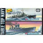 Modele plastikowe - Okręty Tabletop Navy: (KMS King George V & KMS Dorsetshire) 2 szt. - Lindberg w sklepie internetowym mix-hurt