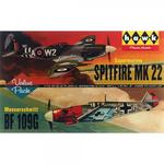 Modele plastikowe - Spitfire & Messerschmitt Me109 2-pak - Lindberg w sklepie internetowym mix-hurt