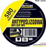 Taśma antypoślizgowa czarna 50mmx3m ANTICOR PB-5800001-0050003 w sklepie internetowym DTG ogrzewanieco