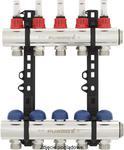 Rozdzielacz INVEST z rotametrami - 11 pętli PĘTL PURMO RETTIG FBWMRNT1140300P0 w sklepie internetowym DTG ogrzewanieco