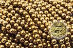 Kamienie Hematyt 4700kp 3mm 1sznur - 3 mm \ Złoty w sklepie internetowym Onyks.eu
