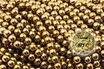 Kamienie Hematyt 2746kp 8mm 1sztuka - 8 mm \ Złoty w sklepie internetowym Onyks.eu