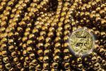 Hematyt 3930kp 10mm 1sznur - 10 mm \ Złoty w sklepie internetowym Onyks.eu