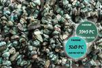 Kamienie Turkus afrykański sieczka 5265kp 1sznur w sklepie internetowym Onyks.eu