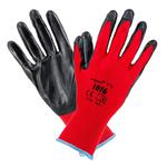 Rękawice robocze Poliester Nitryl 1016 Urgent ( 12 par ) w sklepie internetowym Narzedziak24.pl