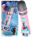 Mikrofon Karaoke dla dzieci z podkładem muzycznym Frozen w sklepie internetowym KochamZabawki.eu