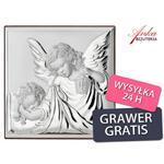 Obrazek Srebrny Anioł Stróż z latarenką Prezent dla Dziecka Grawer Gratis w sklepie internetowym AnKa Biżuteria