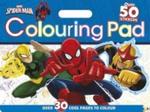 Marvel Spider-Man Colouring Pad w sklepie internetowym Libristo.pl