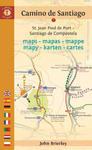 Camino de Santiago Maps - Mapas - Mappe - Mapy - Karten - Cartes: St. Jean Pied de Port - Santiago de Compostela w sklepie internetowym Libristo.pl