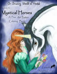 Mystical Horses Vol. #2 Poster: Poster Coloring Book w sklepie internetowym Libristo.pl