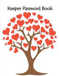 Keeper Password Book: Keeper Password Book Internet Log in Organizer for Lock Security Save for Home Office Review Your Credit Card Statement w sklepie internetowym Libristo.pl