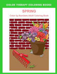 Spring Color By Numbers Adult Coloring Book: A Large Print and Easy Color by Number Adult Coloring Book of Spring Flowers, Birds, Butterflies, Bunnies w sklepie internetowym Libristo.pl