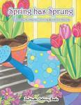 Adult Color By Numbers Coloring Book of Spring: A Spring Color By Number Coloring Book for Adults with Spring Scenes, Butterflies, Flowers, Nature, Co w sklepie internetowym Libristo.pl