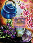 Big Kids Coloring Book: Tasty Tea for You and Me: 170+ line-art illustrations to color on single-sided pages plus bonus pages from the artist' w sklepie internetowym Libristo.pl