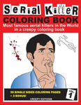 Serial Killer Coloring Book: Most famous serial killers in the world in a creepy coloring book w sklepie internetowym Libristo.pl