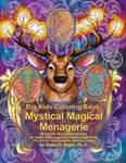 Big Kids Coloring Book: Mystical Magical Menagerie: 60 Line-Art Illustrations to Color on Single-Sided Pages Plus Bonus Pages from the Artist' w sklepie internetowym Libristo.pl
