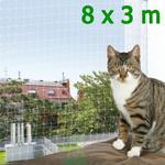 Siatka ochronna dla kota na balkon 8 x 3 m Trixie - 8 x 3 m w sklepie internetowym ZdrowyZwierzak.pl