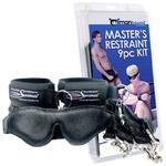 Manbound Master's Restraint Kit – Zestaw SM dla mężczyzn kajdanki i więzy w sklepie internetowym PokojRozkoszy.pl