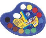 Farby akwarelowe 12 kolorów fi 30 Astra paletka w sklepie internetowym e-szkolniak.pl