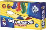 Farby plakatowe 6 kolorów Astra w sklepie internetowym e-szkolniak.pl