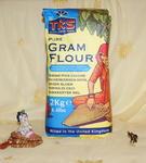 Mąka z cieciorki (1kg) w sklepie internetowym Indiaonline.pl