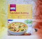 Ashoka Shahi Navratan Korma - warzywa w łagodnym sosie - Danie wegańskie! w sklepie internetowym Indiaonline.pl