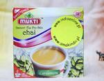 Mukti - herbata instant z mlekiem i kardamonem niesłodzona - Indian Chai! w sklepie internetowym Indiaonline.pl