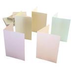 Zestaw kopert i kart A6 Anita's perłowe pastel x50 w sklepie internetowym papierA4.pl