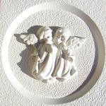 Forma do odlewów gipsowych B-G5-4 para aniołków x1 w sklepie internetowym papierA4.pl