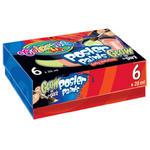 Farby plakatowe Patio - 6 kolorów glow x1 w sklepie internetowym papierA4.pl
