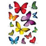 Naklejki HERMA Decor 3084 kolorowe motyle x1 w sklepie internetowym papierA4.pl